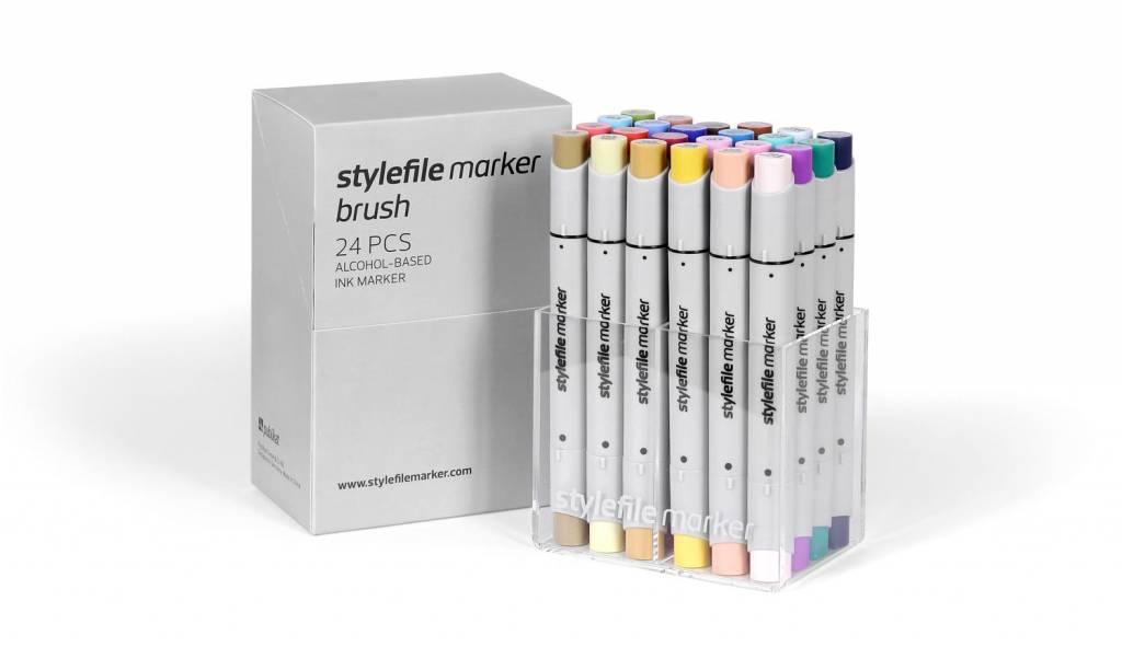 Stylefile MARKER Brush 24er Set Main B
