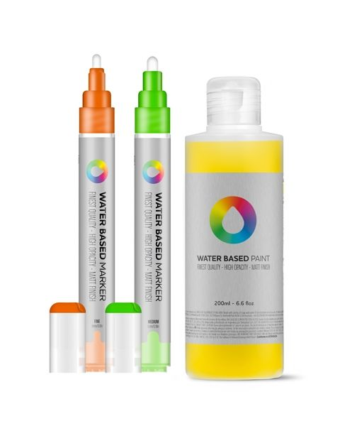 MTN Colors WATER BASED Paint Refill 200ml