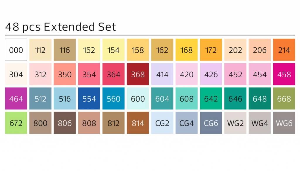 Stylefile MARKER Brush 48er Set Extended