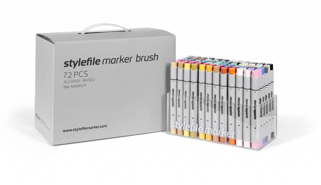 Stylefile MARKER Brush 72er Set Main