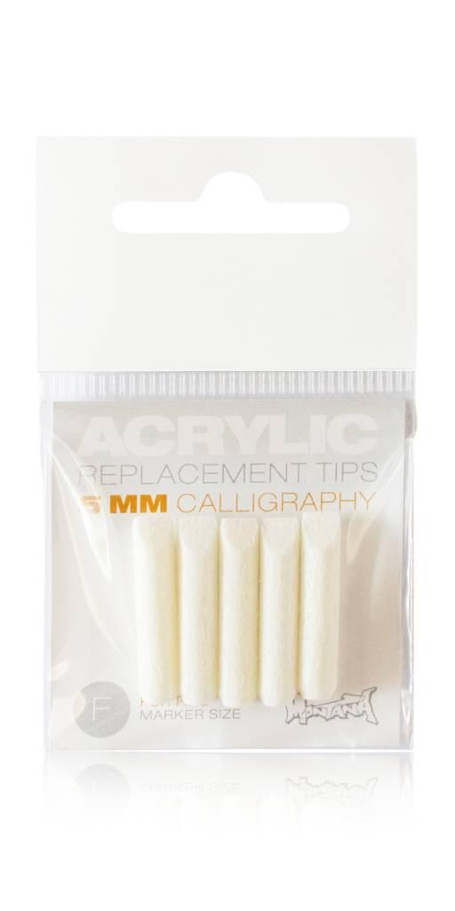 Montana ACRYLIC Tip 5mm Calligraphy