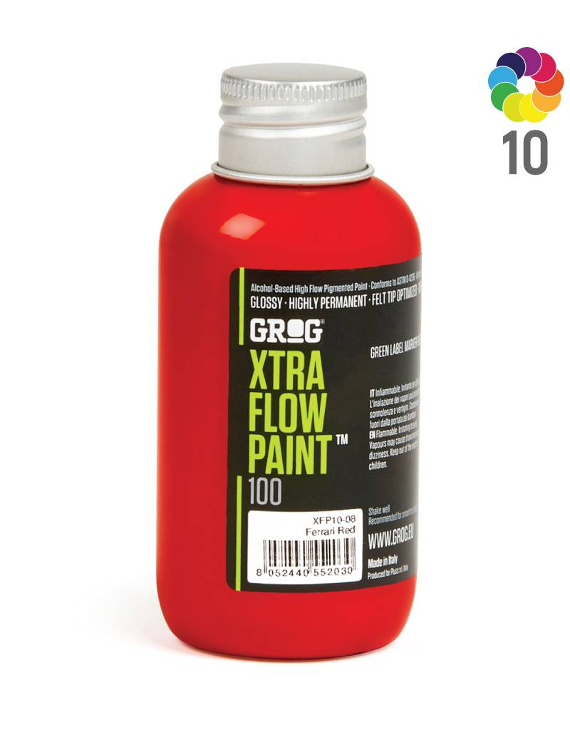 Grog XTRA FLOW PAINT Refill 100ml
