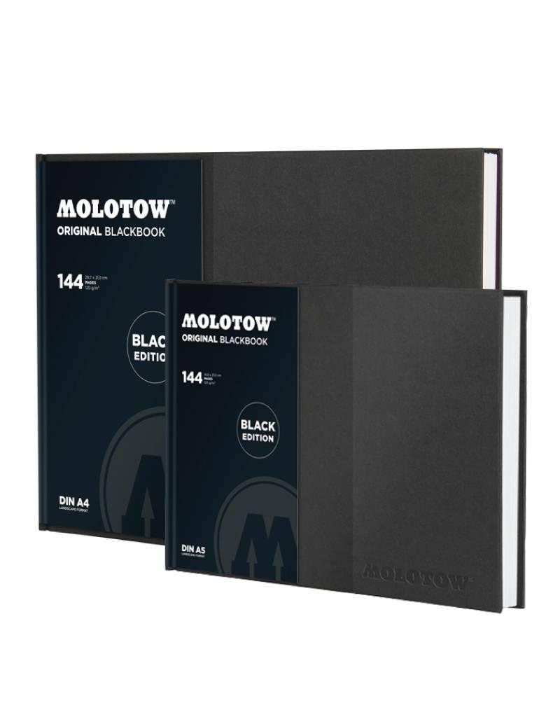 Molotow BLACKBOOK Din A5 / A4 Querformat