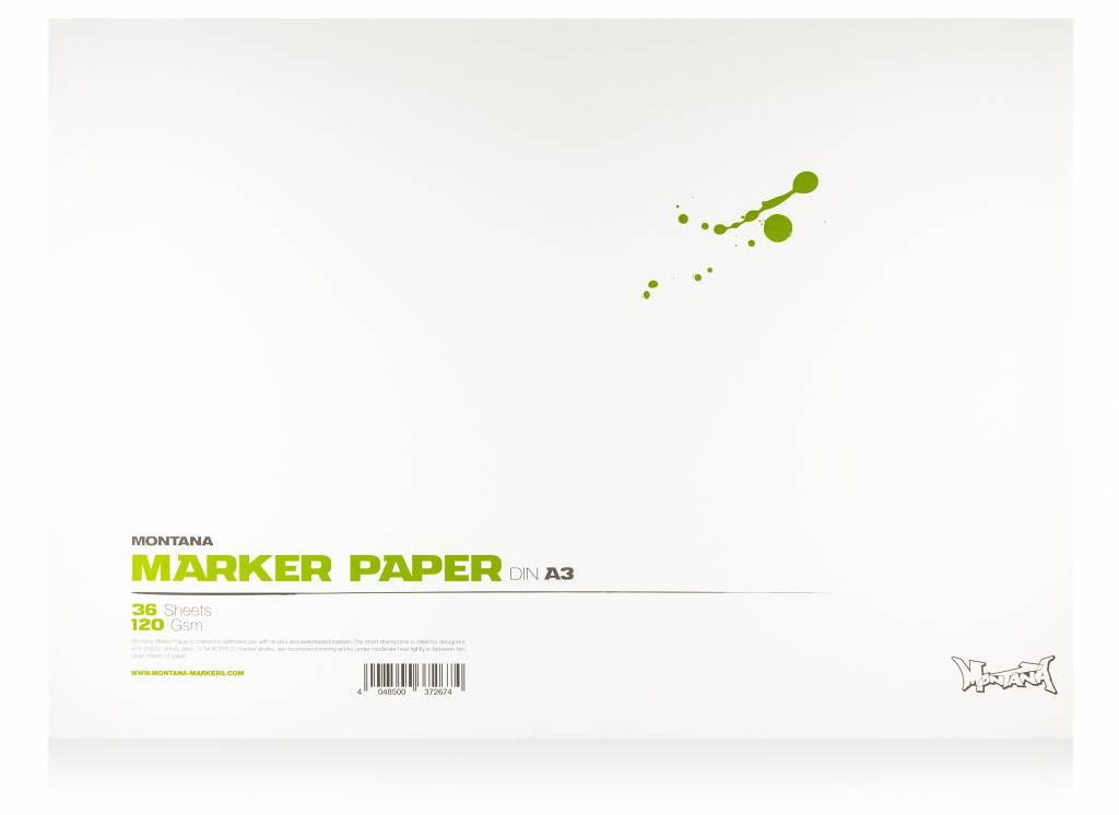 Montana MARKER PAPER Din A4 / A3
