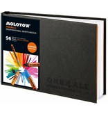 Molotow ONE4ALL SKETCHBOOK Din A5 / A4 Querformat