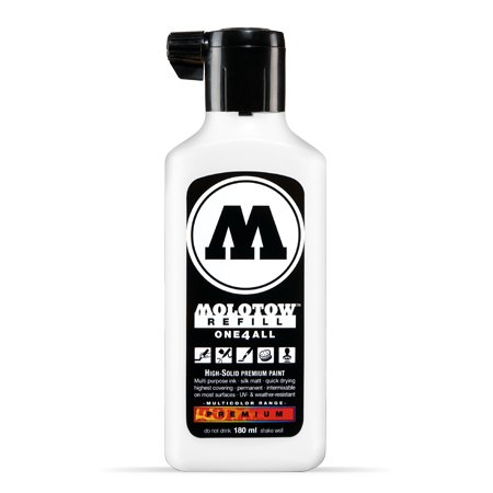 Molotow ONE4ALL Empty Bottle 180ml