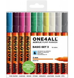 Molotow ONE4ALL 127HS Marker 10er Basic-Set 3