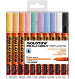 Molotow ONE4ALL 127HS Marker 10er Pastel-Set