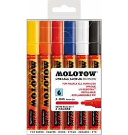 Molotow ONE4ALL 227HS Marker 6er Basic-Set 1