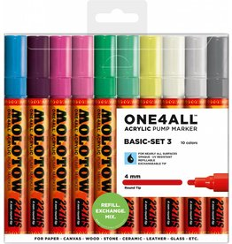 Molotow ONE4ALL 227HS Marker 10er Basic-Set 3