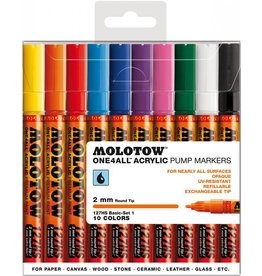 Molotow ONE4ALL 127HS Marker 10er Basic-Set 1