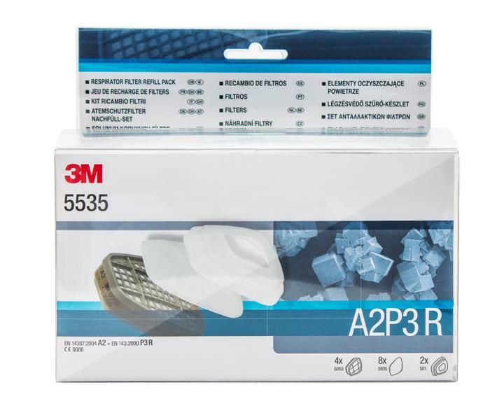 3M 5535 FILTER SET A2P3 R Filtersatz