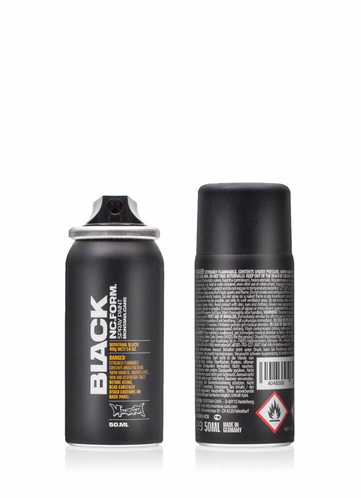 Montana BLACK 50ml Sprühdose