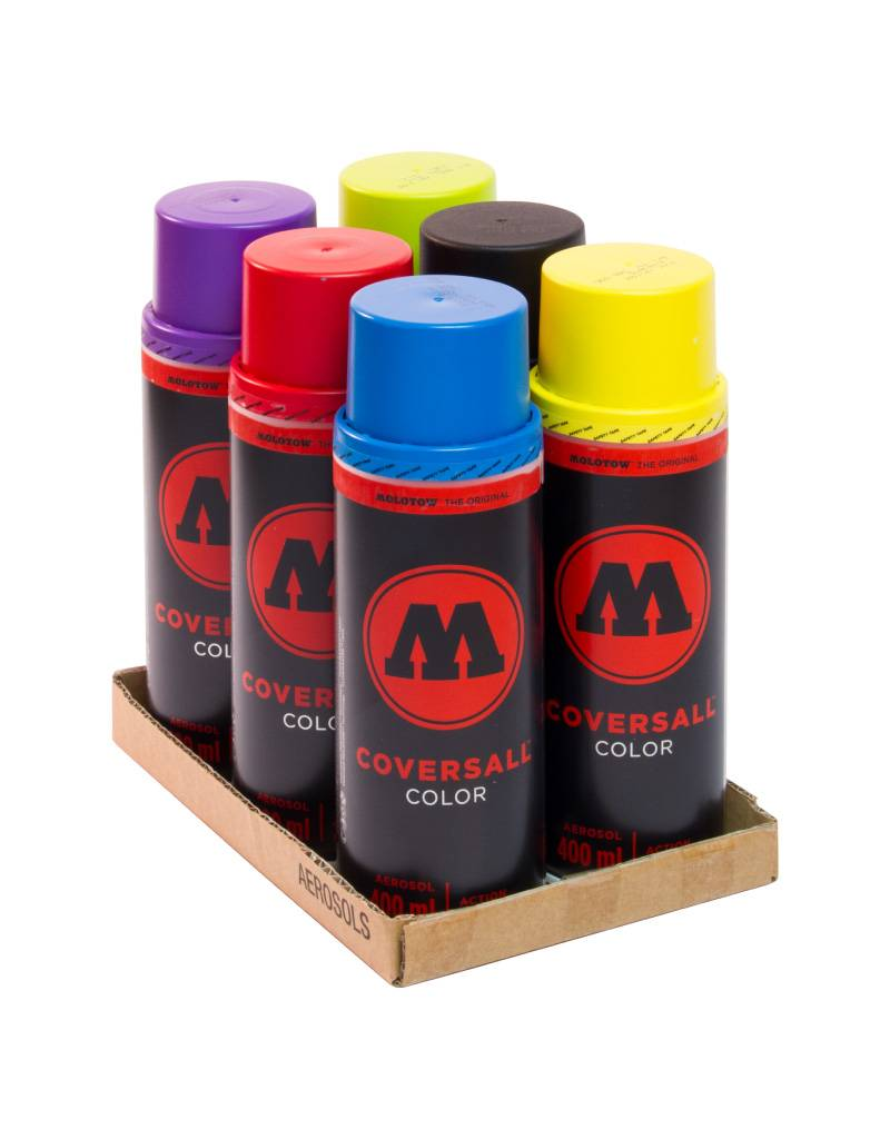 Molotow COVERSALL Basic Pack 2