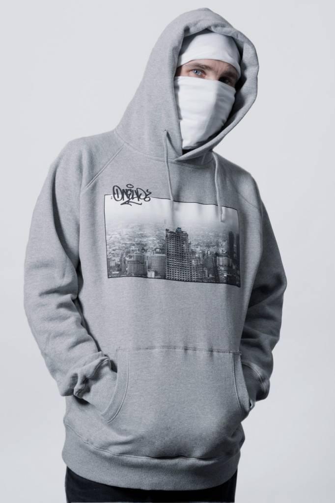 1UP BANGKOK HOODIE grey