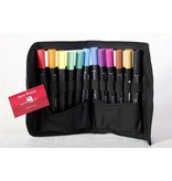 Delta Marker 12er Set Main Colors inkl. Tasche