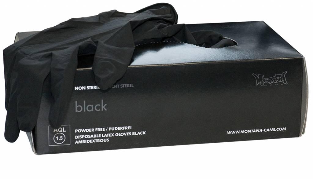 Montana LATEX GLOVES black