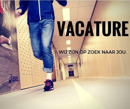 Vacature! Wij zijn op zoek naar jou!
