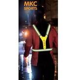Hardlooplampje + Veiligheidsvest met lampjes