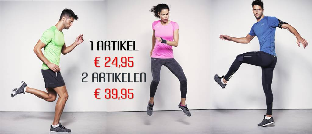 2 Shirt/Singlets voor € 39,95