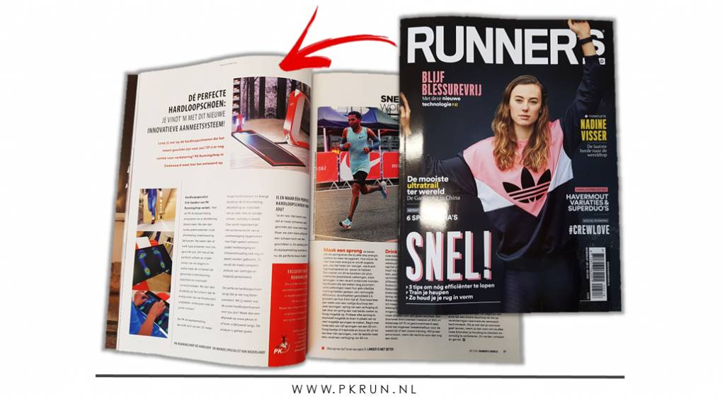 PK in Runner's World Magazine!