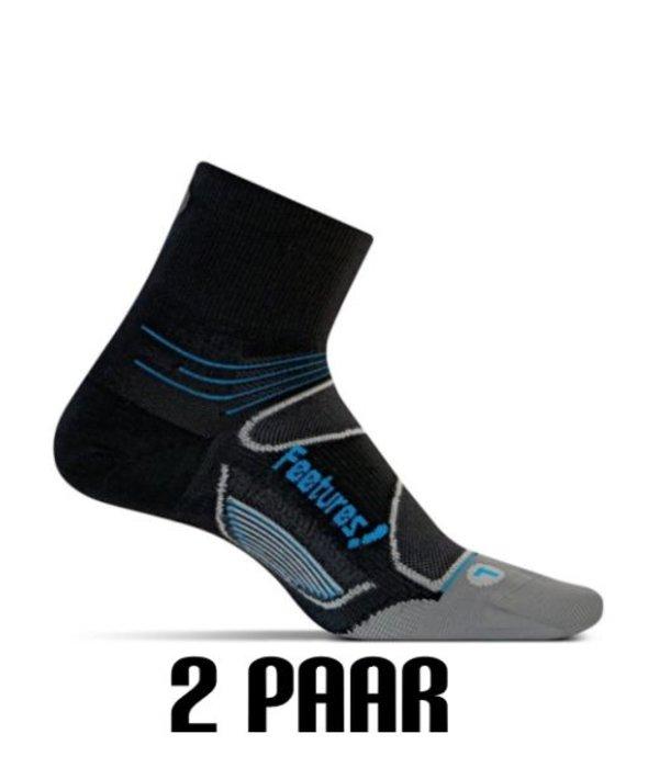 Feetures Anti-blaren Sokken 2 paar Kort