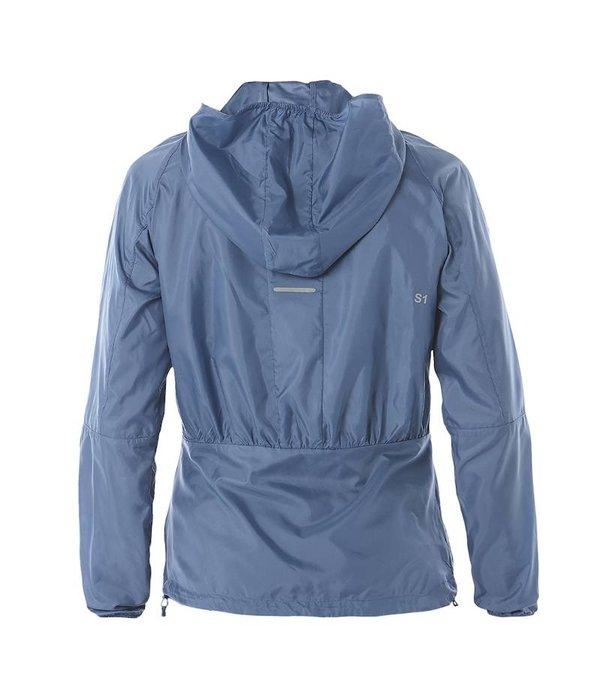 ASICS kleding Hardloopjack voor Dames Blauw