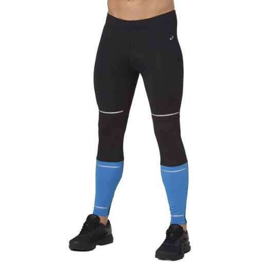 ASICS kleding Hardloopbroek Zwart met Blauw