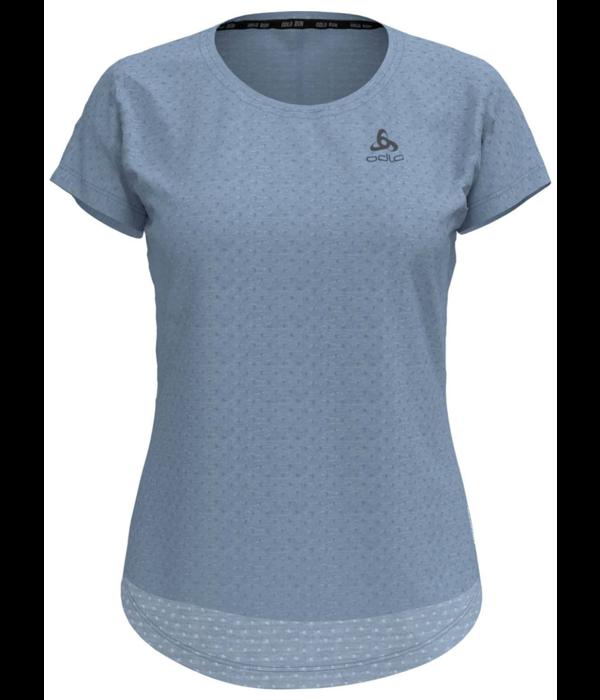 Odlo Hardloopshirt Dames Blauw