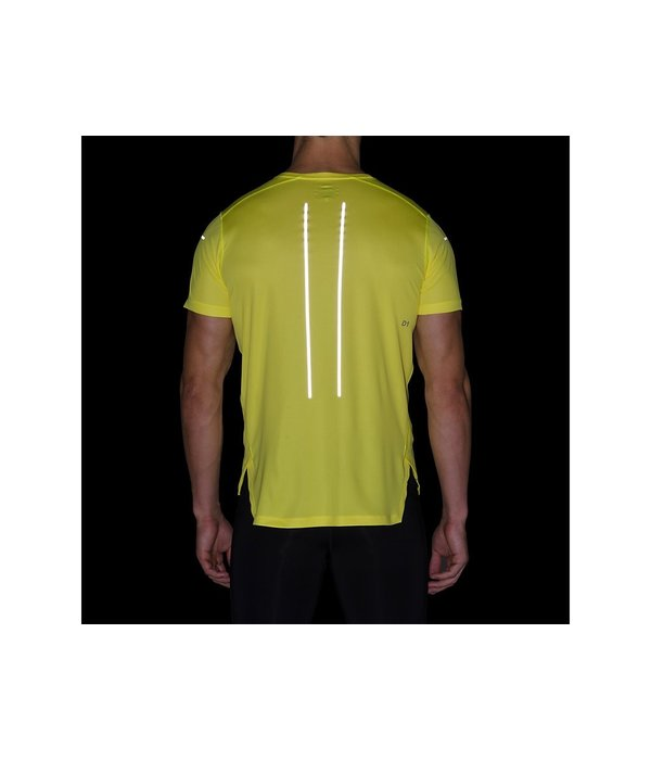ASICS Running Shirt Heren Geel