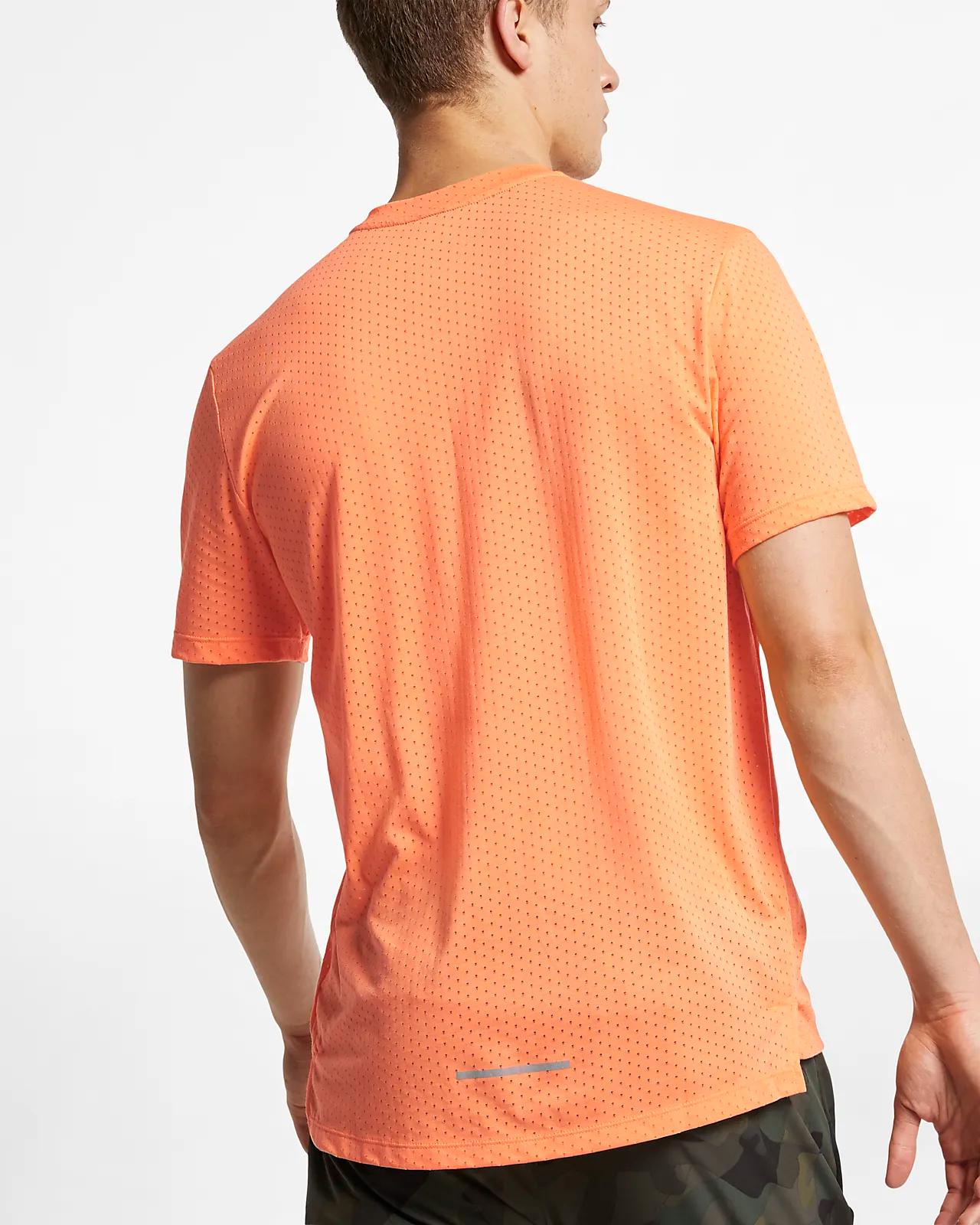 Nike Shirt Breathe Rise Heren zacht en comfortabel