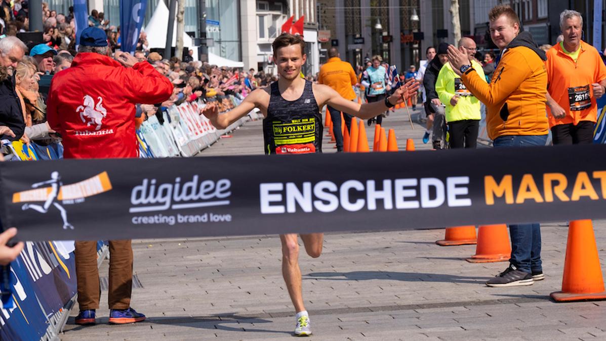 PK-adviseur wint Enschede Marathon!