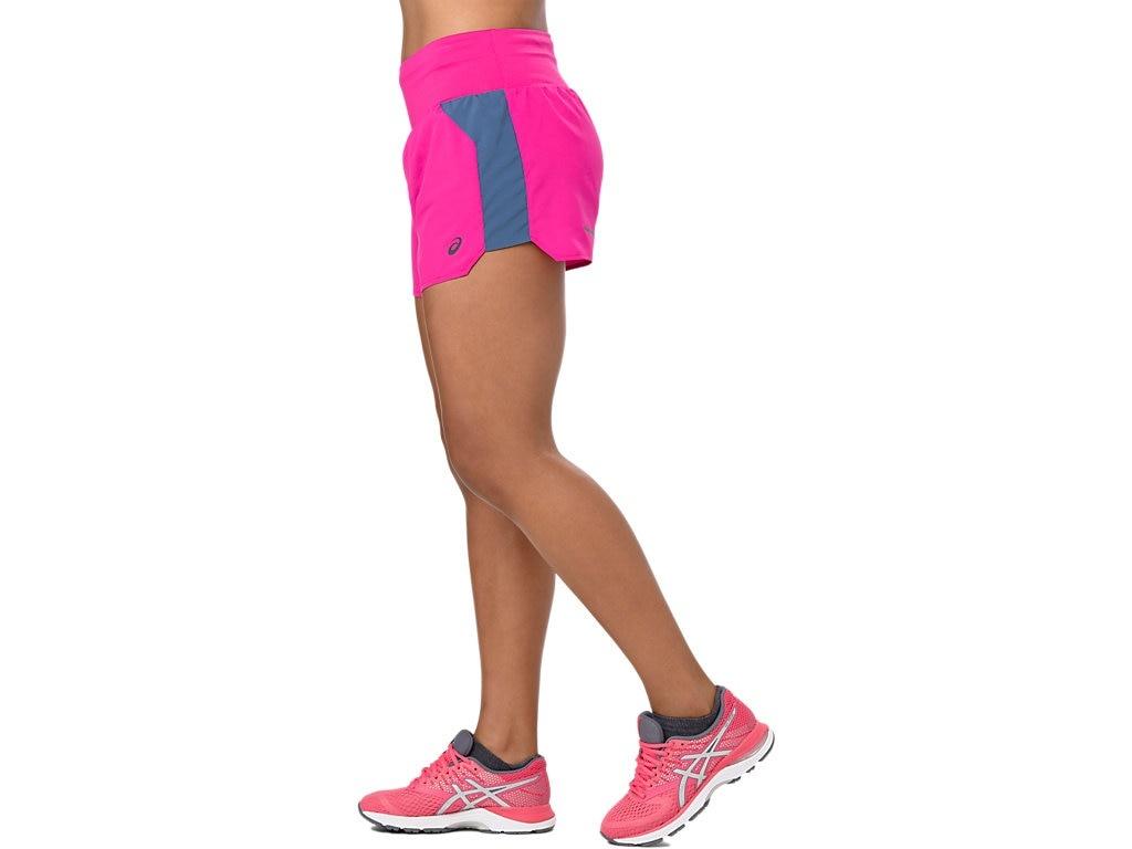 053c5592be2 Asics Short 3.5in Dames Roze - PK Runningshop