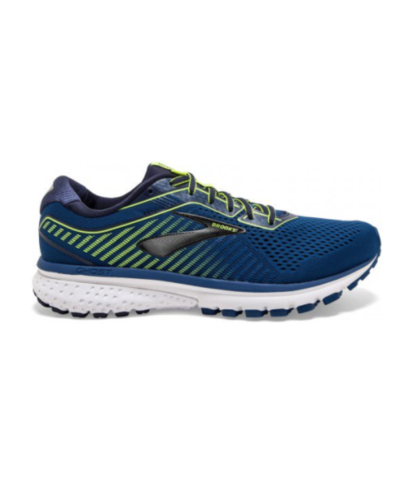 Brooks ghost 12 heren blauw