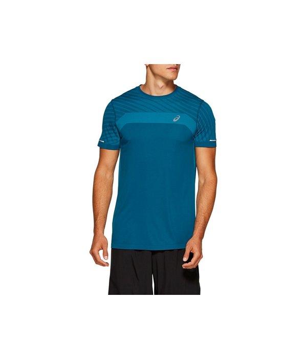 ASICS seamless shirt heren blauw