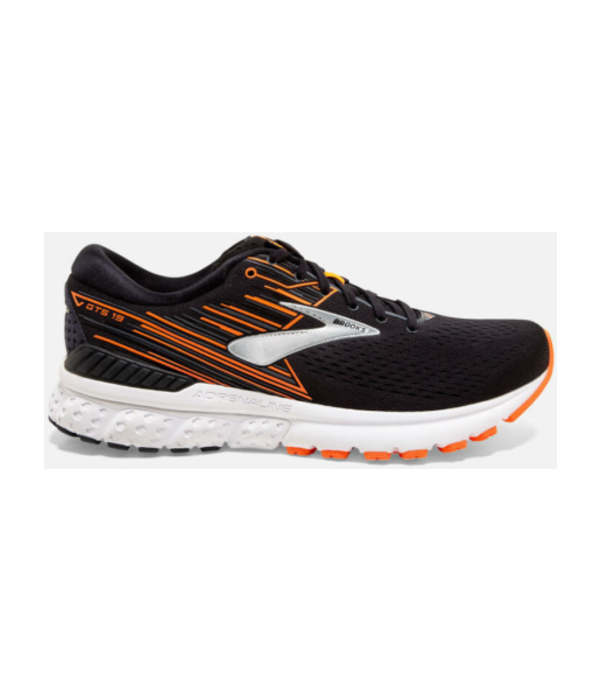 Brooks Adrenaline GTS 19 Heren Zwart Oranje