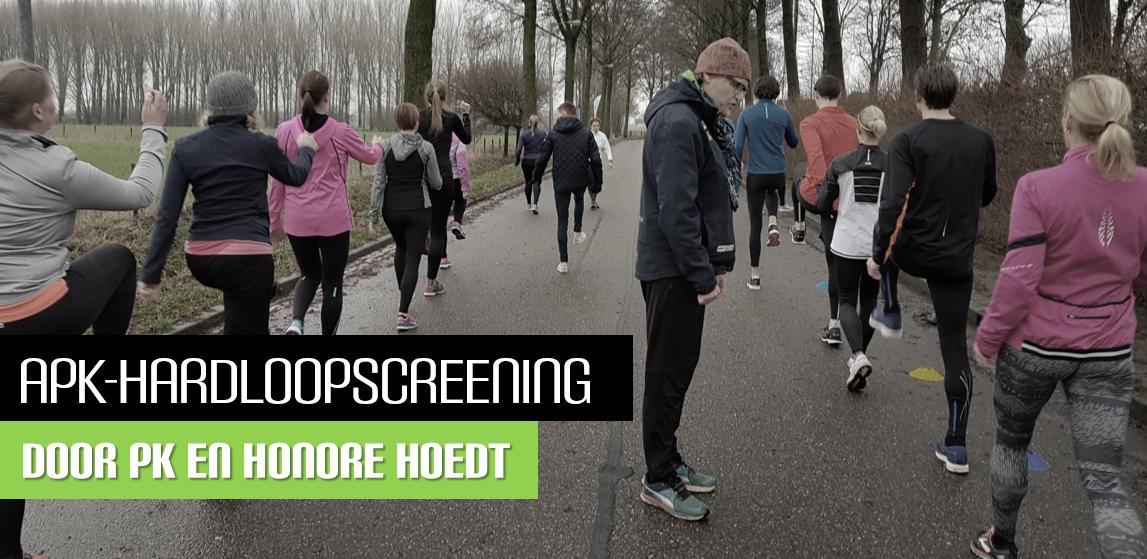 APK-Hardloopscreening Honore Hoedt