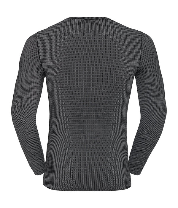 Odlo top crew neck heren grijs