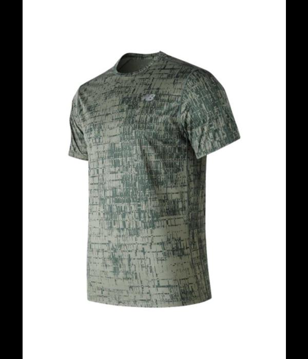 New Balance shirt printed accelerate heren