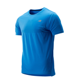 New Balance shirt accelerate heren blauw