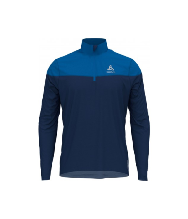 Odlo Half zip element shirt heren blauw