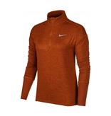 Nike Shirt Element Top Dames bruin