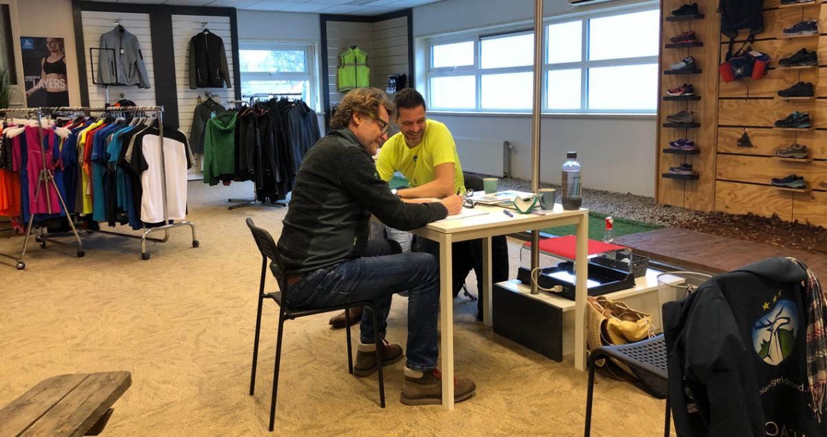 Persoonlijk trainingsschema van Honore Hoedt!