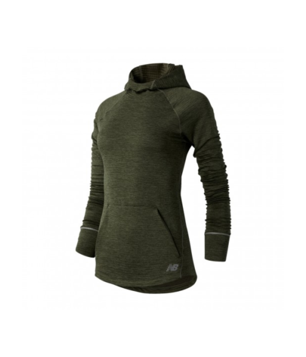 New Balance heat grid hoodie dames