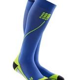 Cep Run Socks 2.0 Compressiekous Heren Blauw/groen