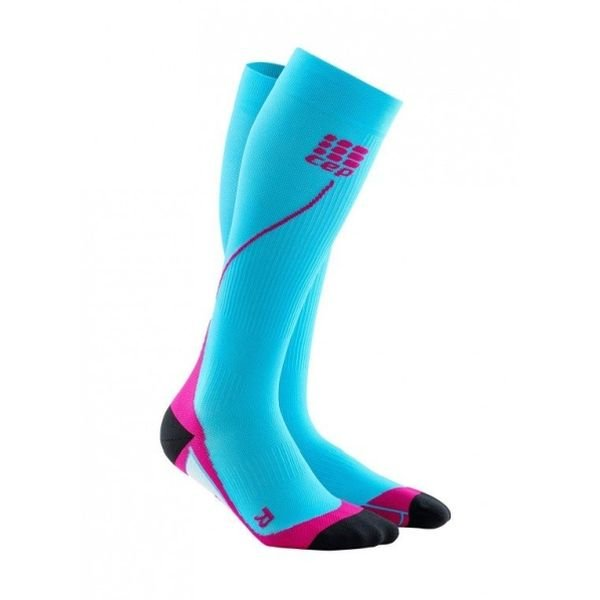 Run Socks 2.0 Dames Blauw/roze