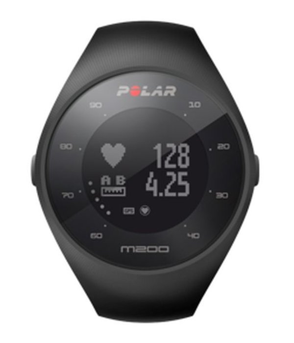 Polar M200 HRM (M/L) Zwart