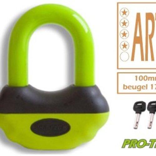 PRO-TECT Schijfremslot ART-4 MBT 4116 Geel
