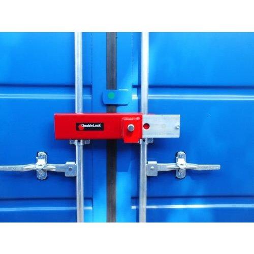 DoubleLock ContainerLockHeavy Red SCM