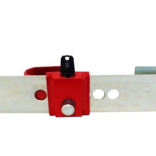DoubleLock Container Lock Red SCM